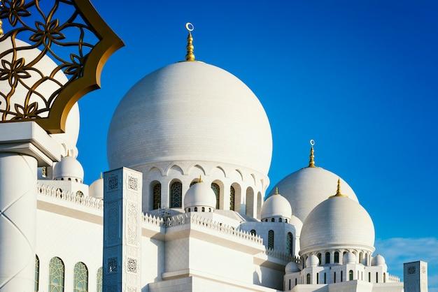 ホワイトモスク Premium写真