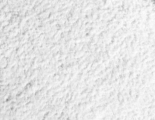 ホワイトコットンタオルの質感や背景 Premium写真