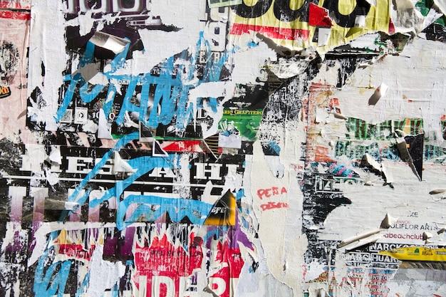 Порванные плакаты Бесплатные Фотографии