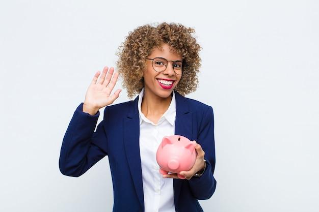 楽しく元気に笑顔、手を振って、お迎えして挨拶、さよならを言って Premium写真