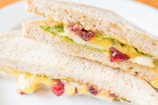 サンドイッチチキン 無料写真
