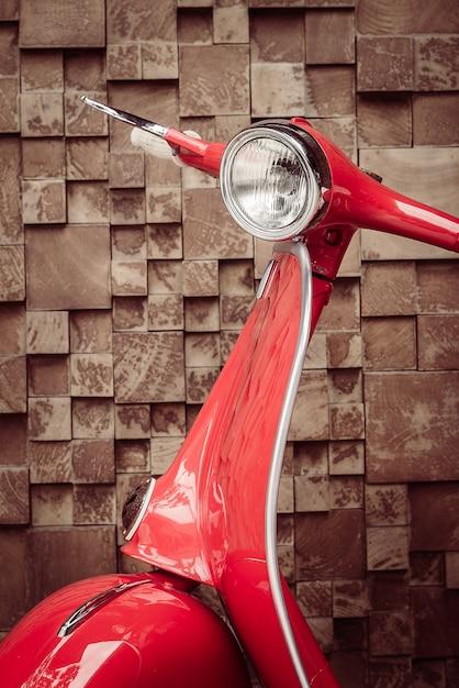 Красный старинных мотоциклов Бесплатные Фотографии