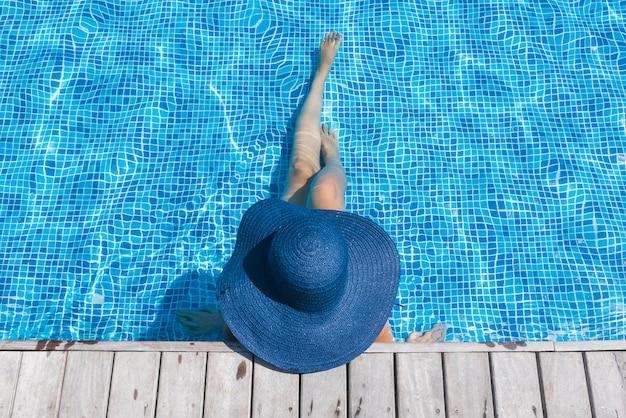女性の帽子 無料写真