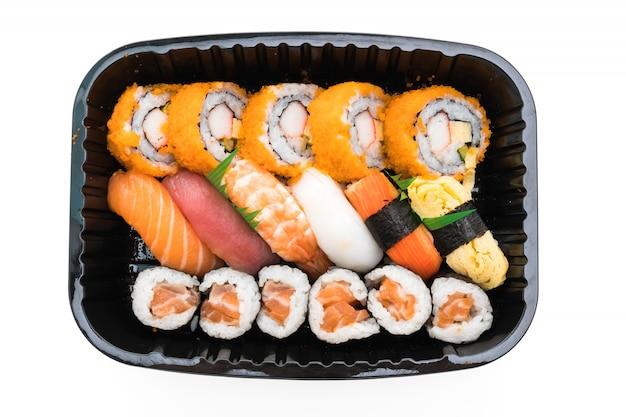 Японский рис морепродуктов красный культуры Бесплатные Фотографии