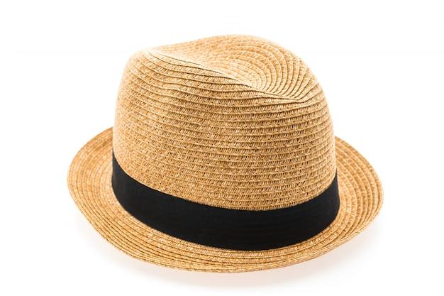 人間の麦わら帽子 無料写真