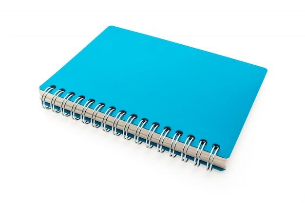 リング付きブルーノートブック 無料写真
