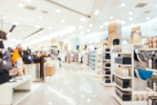 Абстрактное размытие и расфокусированный торговый центр Бесплатные Фотографии