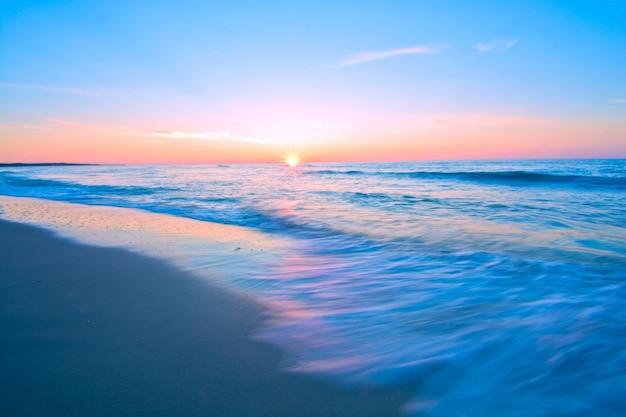 青い海の風景。 無料写真