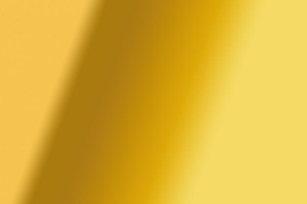 抽象的な装飾的なデザイン要素の背景として波状ゴールドグラデーションカラーソフトテクスチャ Premium写真