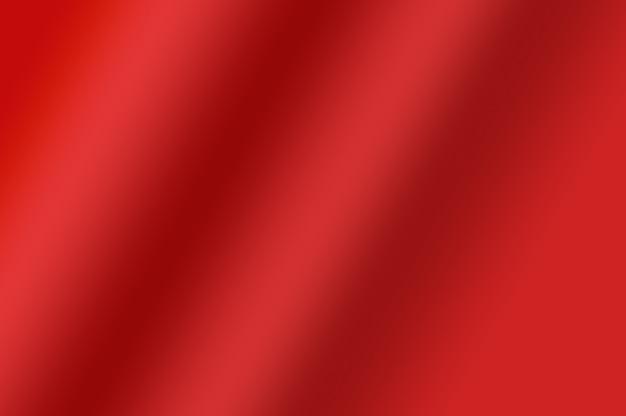 抽象的な装飾的なデザイン要素の背景として波状の赤いグラデーションカラーのソフトテクスチャ Premium写真