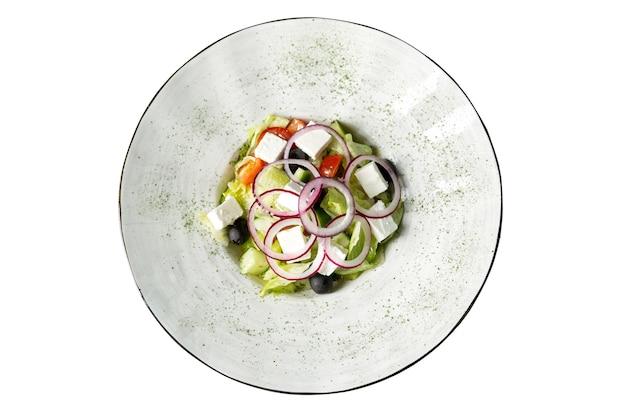 食欲をそそるギリシャサラダプレート Premium写真