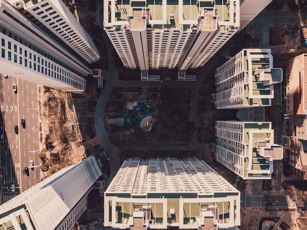 建物のある地区の平面図 Premium写真