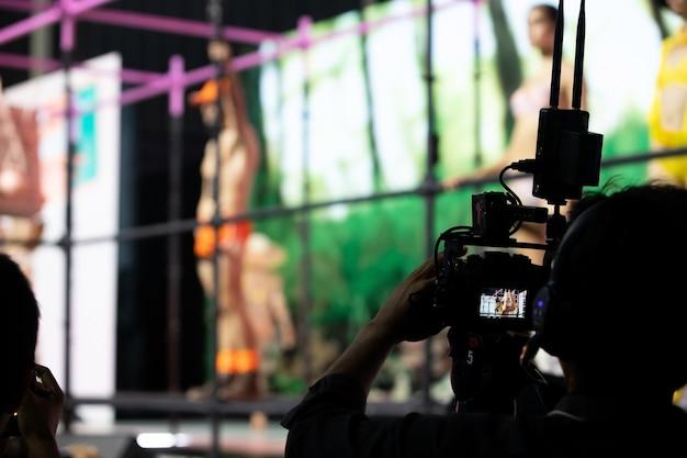 ビデオ制作カメラソーシャルネットワークライブ撮影 Premium写真