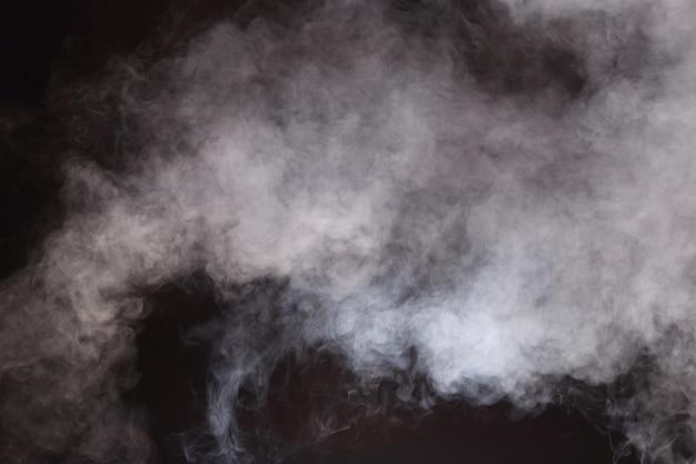 抽象的な煙雲、すべての動きがぼやけて背景 Premium写真