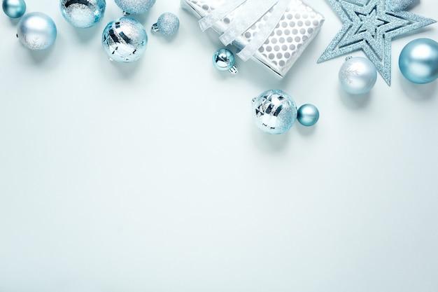 Синяя рождественская квартира Бесплатные Фотографии