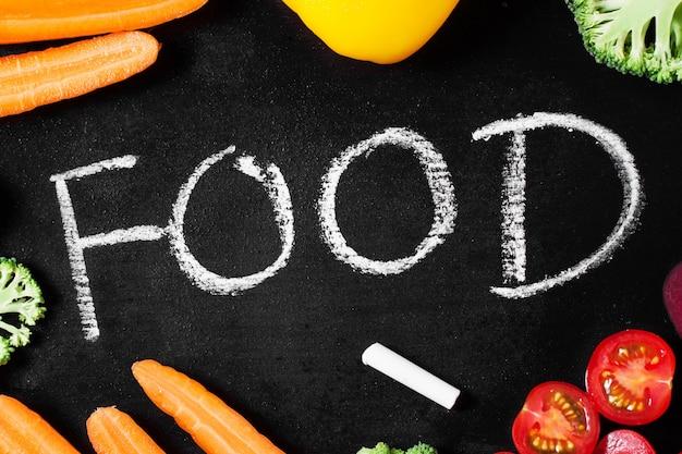 Новый год, картинка с надписью еду