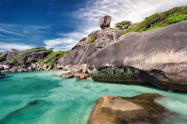 タイの美しい海岸線 Premium写真