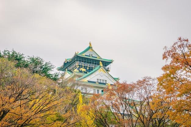 大阪、日本の大阪城 無料写真