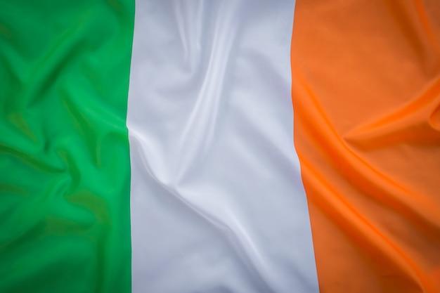 アイルランド共和国の国旗。 無料写真