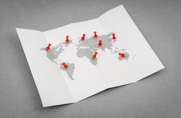 通信旅行地理シンプルアフリカ 無料写真