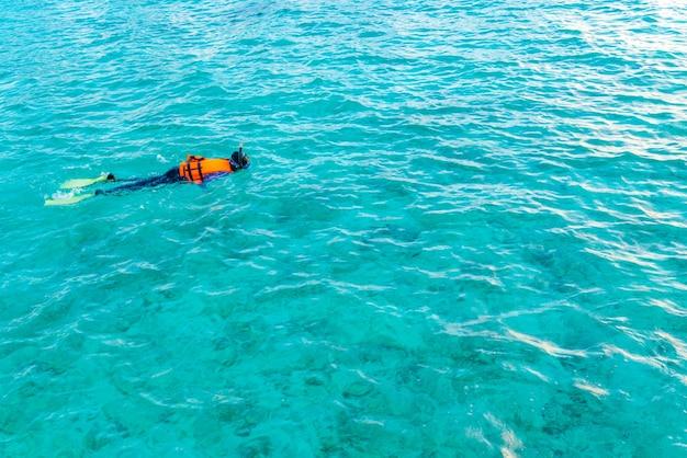 Подводные райские райские женщины Бесплатные Фотографии