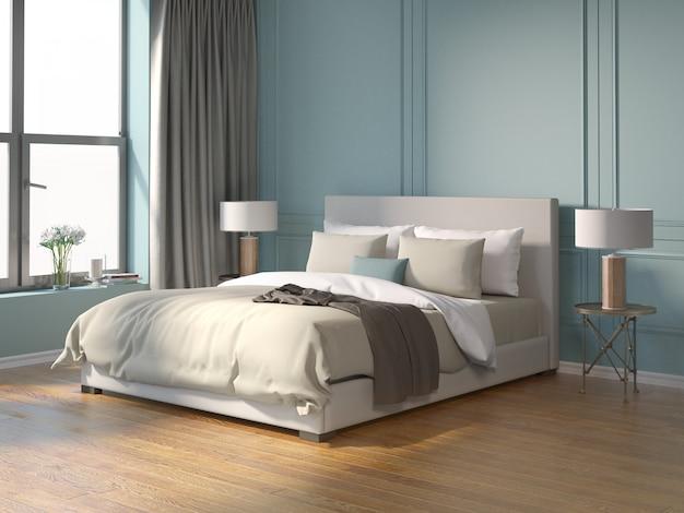 Современная современная система стен гостиной Premium Фотографии