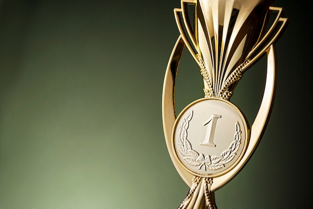 Золотой призер чемпионата мира Premium Фотографии