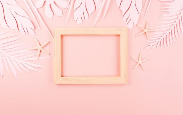 紙切断ヤシの葉 Premium写真