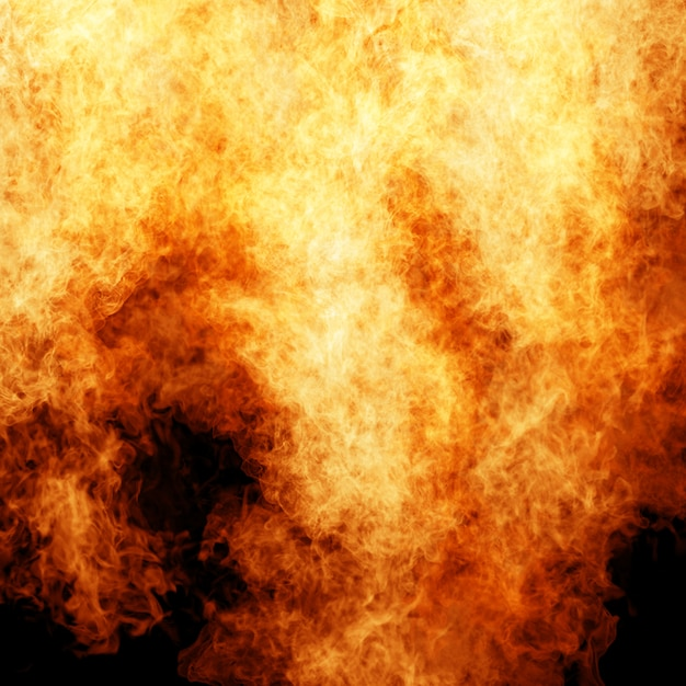 火の背景 Premium写真