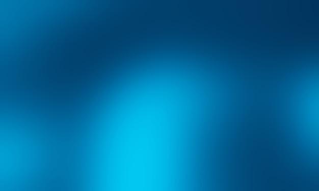 Темный градиент синий фон. Premium Фотографии