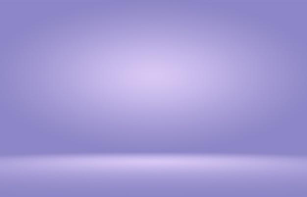 抽象的な滑らかな紫色の背景部屋インテリア背景 Premium写真