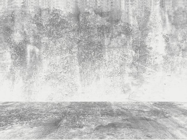 Шероховатый белый фон из натурального цемента или старой каменной текстуры Premium Фотографии