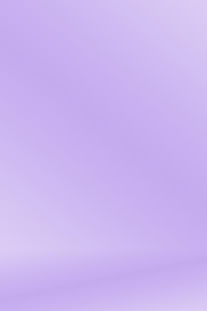 スムーズエレガントなグラデーション紫色の背景もデザインとして使用します。 無料写真