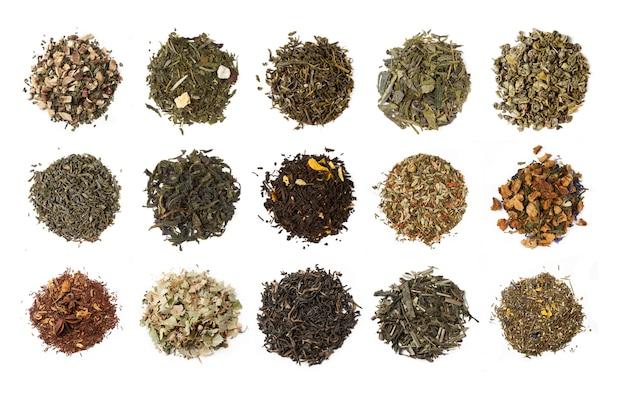 さまざまなお茶 Premium写真