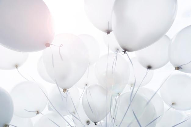 パーティー、風船背景の風船の装飾 Premium写真