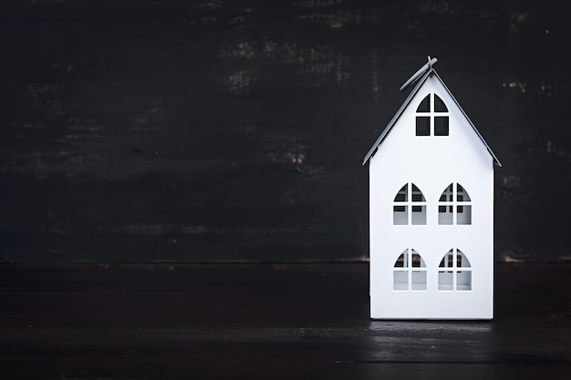 Дом, милый дом. домашний символ Premium Фотографии