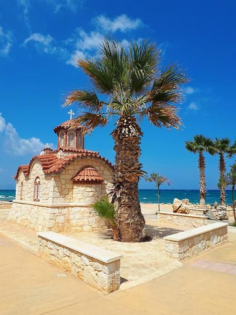 クレタ島の地元の教会 Premium写真