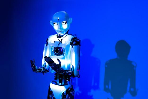 人工知能ロボット Premium写真