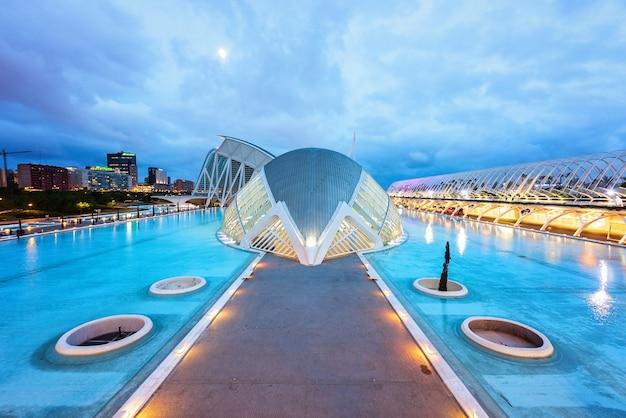 バレンシアオペラハウス Premium写真