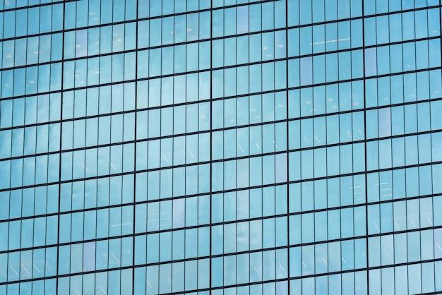 Стеклянная башня зданий в центре города бостон Premium Фотографии