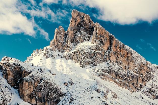 Горы чинкве-терре Premium Фотографии