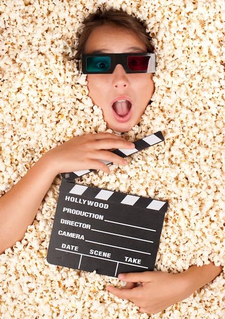 映画クラッパーボード Premium写真