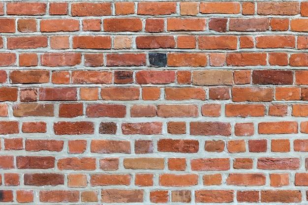 レンガ壁の背景。 Premium写真