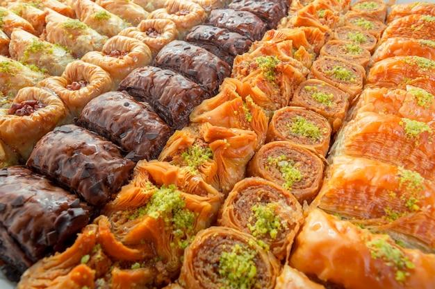 トルコのバクラヴァデザート Premium写真
