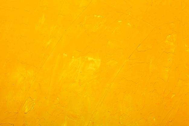 黄色の壁テクスチャ背景 Premium写真