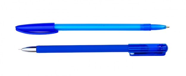 Ручки на белом Premium Фотографии
