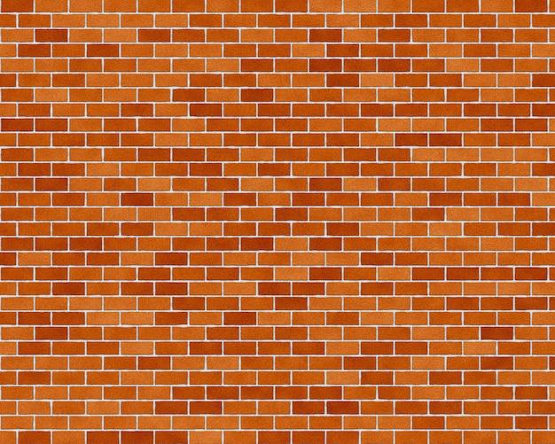 Кирпичная стена бесшовный фон Premium Фотографии