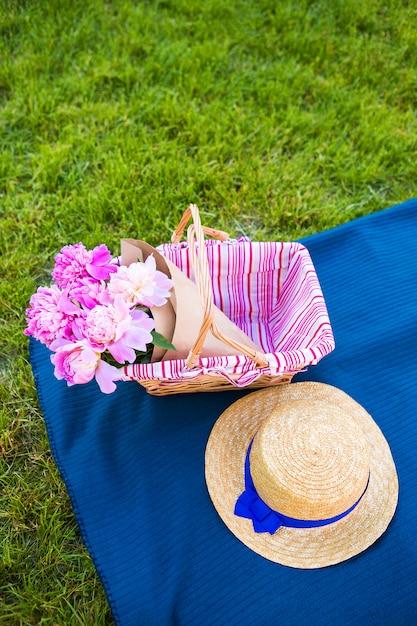 自然でのピクニック Premium写真