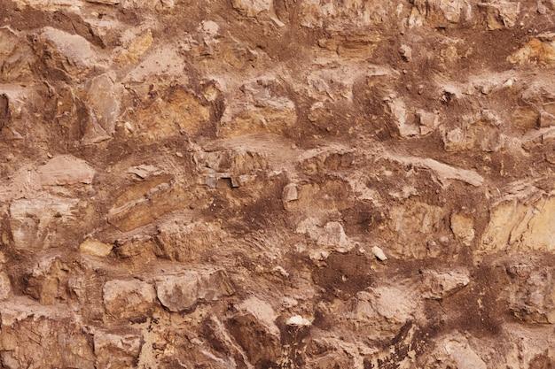 石のテクスチャと背景。岩のテクスチャ Premium写真