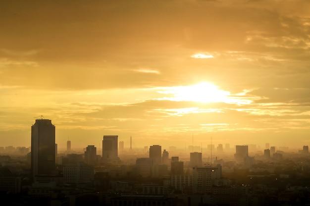 バンコク市内の美しい景観 Premium写真